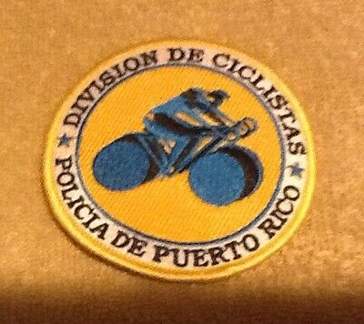 Puerto Rico State Police Bike Division Patch