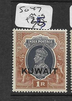Kuwait (Pp0802B) On India    Kgvi  1R  Sg 47  Mog