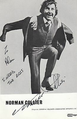 Norman Collier I Need The Eggs Hand Signed Photo