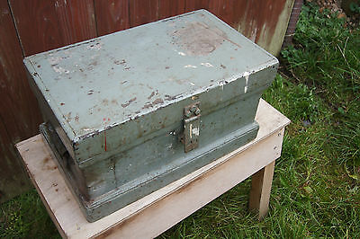 Raf Small Pine Toolbox / Chest Storage Coffee Table Etc