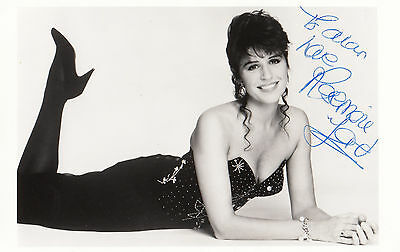 Rosemary Ford of Bruce Forsyth s Generation Game Hand Signed Photo
