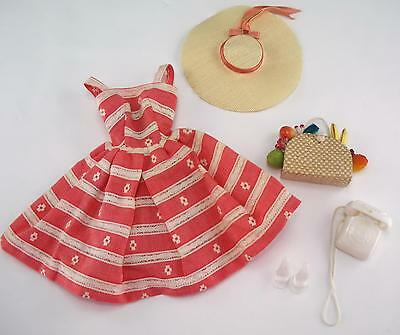 Vintage Barbie Near Complete 1963 Busy Morning #956 Doll Outfit