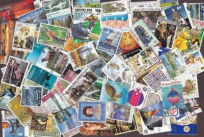 125+ Beautiful Stamps From New Zealand - All Different Issues!