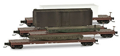 Western Pacific Wreck Recovery 4 Car Set  MTL #994 00 067 Micro-Trains Z-Scale