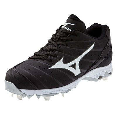 Mizuno 9-Spike Advanced Sweep 2 Women's Metal Softball Cleats - Black - 7