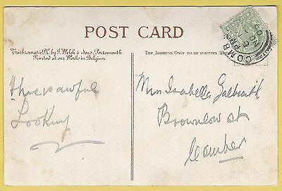 1905 Postcard - Sent to Isabella Galbraith - Comber - County Down