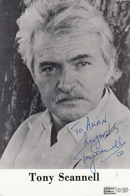 Tony Scannell The Bill ITV Show Vintage Hand Signed Cast Card Photo
