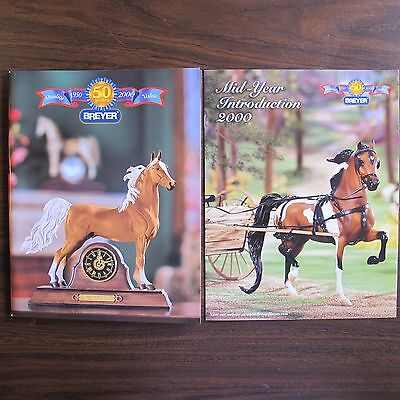 Breyer horse dealer guide catalog 2000 with mid-year catalog Anniversary Edition