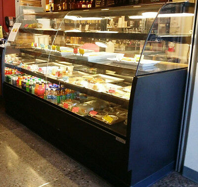"""Refcon Refrigerated  Euro Style Pastry Case 94"""""""
