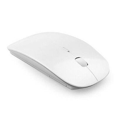 Slim 2.4 GHz Mice Optical Wireless Scroll Wheel Mouse +USB Dongle For Laptop PC
