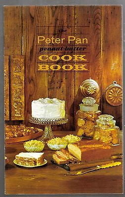 Peter Pan Peanut Butter Cookbook - vintage 1963 promotional advertising recipes