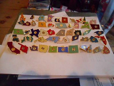 100th year NALC commemorable State pins only 100 made  Very Rare