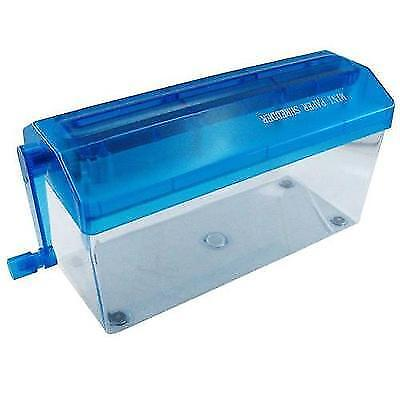 Portable Office Mini A4 Manual Paper Hand Shredder Straight Cut Home Paper New