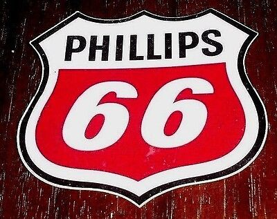 "Vintage Phillips 66 - 3"" Decal (S-3-V) Shield - New-Old Stock"