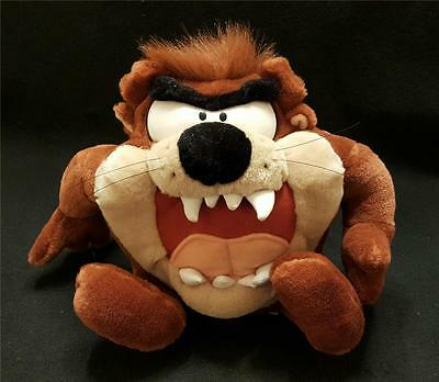 "Plush Tasmanian Devil by Looney Tunes 1997 Play by Play 13"" x 9"""