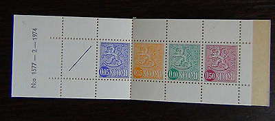 Finland 1974  Booklet MNH