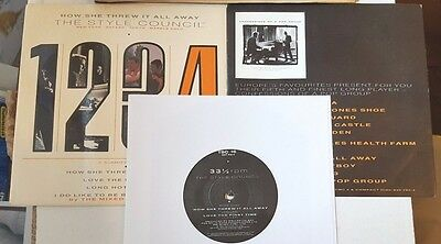 """The Style Council 7"""" Four Track Ep How She Threw It All Away 1988 Uk Tsc-16"""