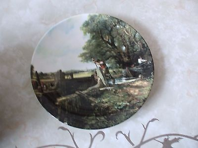 Royal Doulton Constable Country Series Collectors Plate The Lock