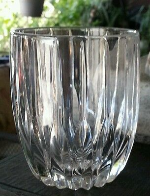 Mikasa Crystal PARK LANE 8 OZ DOUBLE OLD FASHIONED GLASS 3 7/8""