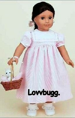 """Best Quality Dress Complete Full Set w Cat for American Girl 18"""" Doll Clothes"""