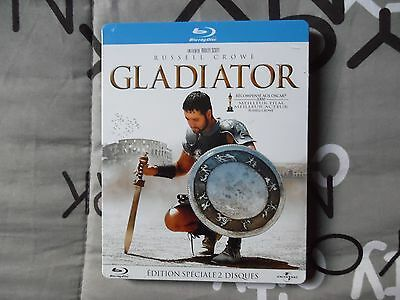 Blu-Ray Gladiator Edition Speciale Steelbook Neuf Sous Blister