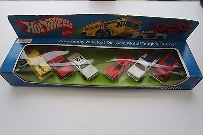 Vintage-Hot-Wheels-6-Pack-H-E-L-P-Machines Blackwall Bw 1976 Unopened 9031 9035