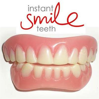 Instant Smile Teeth Top Small with Bottom Included Full Set Fake Teeth