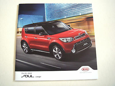 Kia . Soul . April 2014 . Sales Brochure