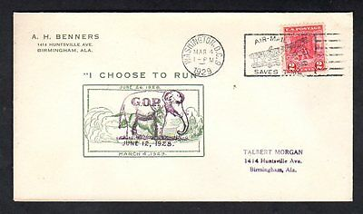 Herbert Hoover GOP Original Inauguration Cover - Washington DC