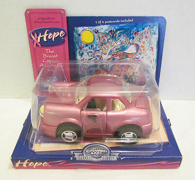 The Chevron Cars 2001 Hope Breast Cancer Awareness Toy Car Mib Unused