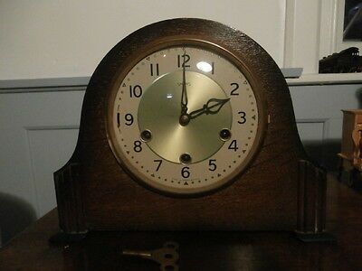 Smiths Westminster Silent / Chime Mantle Clock