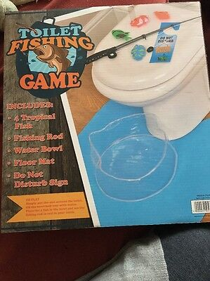 Toilet Fishing Game New