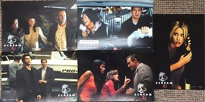 Scream 3 German 5 Lobby Cards