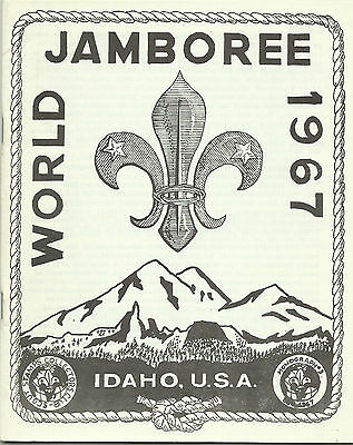 1967 Boy Scout World Jamboree- Scout Stamps & Postmarks Monograph