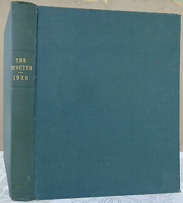 1938 Bound Edition Of The Scouter Founder Baden- Powell Boy Scouts