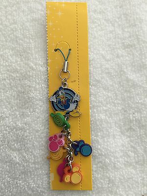 Hong Kong Disneyland Donald Duck Cell Phone / Purse Charm - New Without Tags