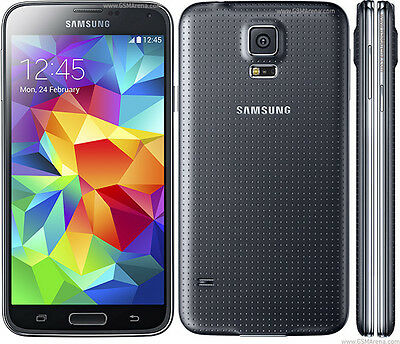 Samsung Galaxy S5 Plus G901F 16GB - Charcoal Black - Unlocked - 1 Year Warranty