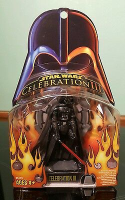 Vintage Star Wars Darth Vader Celebration 111 Darth Vader ROTS MOC