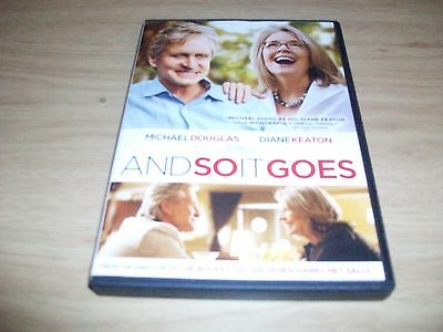 Comedy Movie: And So It Goes! Used & In Excellent Condition! Michael Douglas!!!!