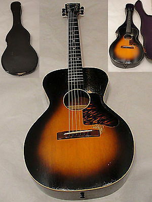 1939 Gibson Kalamazoo Sport Model Acoustic Small Body Guitar w Original Case