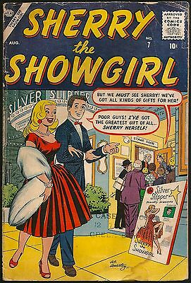 Sherry The Showgirl  7  G+ 2.5  1957