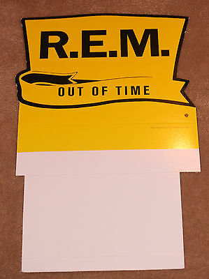 REM R.E.M. - Promotional Counter Display for Out of Time CD - Michael Stipe