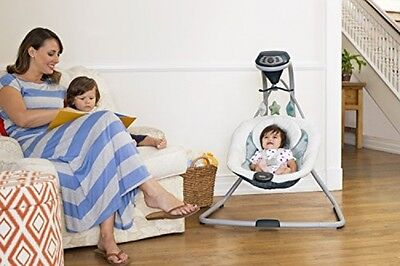 Baby Swing Seat Portable Rocker Chair Toddler Infant Vibration Bouncer Comfort