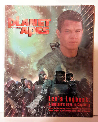 Planet of the Apes Movie Book- Leo's Logbook- 48 Pages- Lots of Photos (M5909)