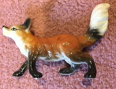 Standing Fox with Tail Up Figurine #2