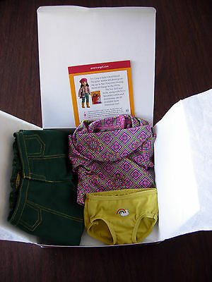 American Girl Meet Ivy Outfit  No Earrings  ~New in Original Box~  Retired Julie