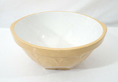 "1930s/40s TG Green Church Gresley ""Gripstand"" Mixing Bowl Yellow Ware 491517"