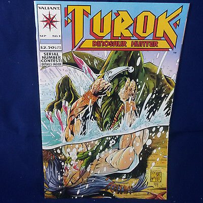 Turok, Dinosaur Hunter #3 (Sep 1993, Acclaim / Valiant) Comic Book Michelinie