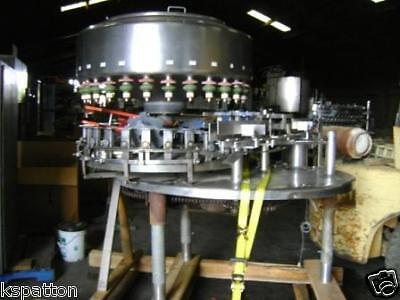 28 Valve Federal / Cemac Bottle Filler, Filling Machine Stainless