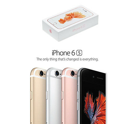Unlocked Apple iPhone 6S 16GB 64GB Factory Smartphone Rose Gold Silver Grey